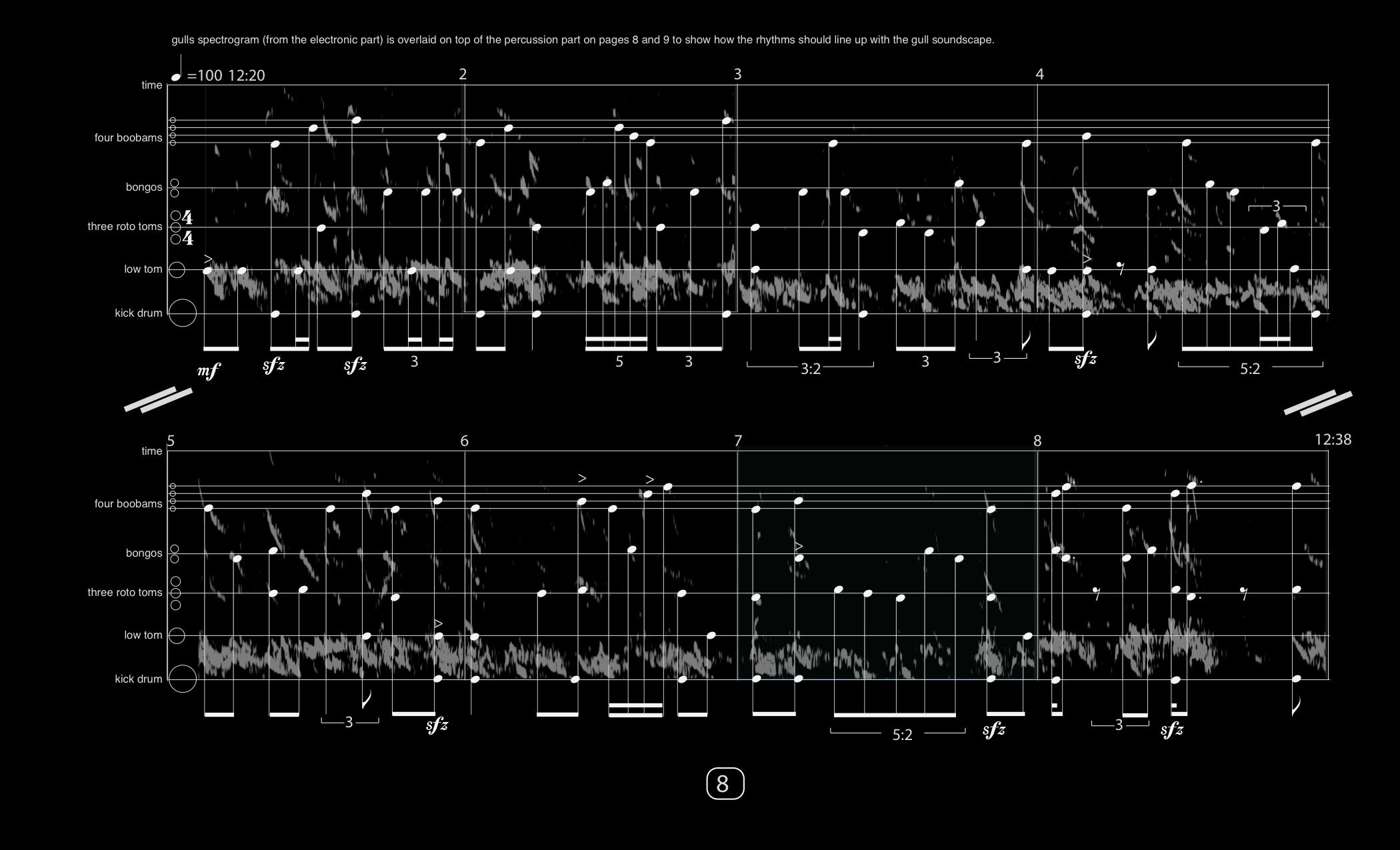 Sound Cast of Matanuska Glacier