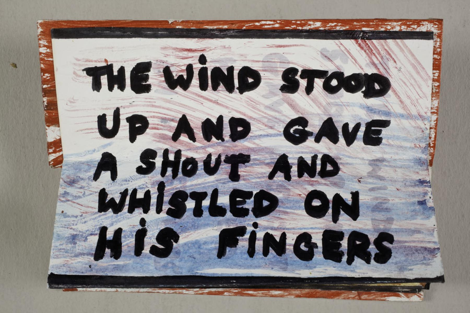 The Wind by James Stephens no. 2